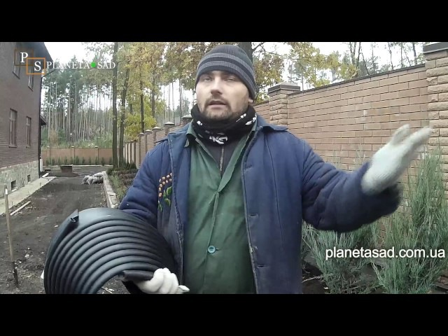 Установка садовой ленты.Отсыпка с камушков и гальки.Отсыпаем можжевельник скальный.Как это делать