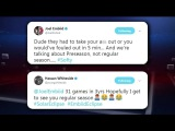 GameTime Joel Embiid Hassan Whiteside Embroiled In Twitter War 2017 18 NBA season