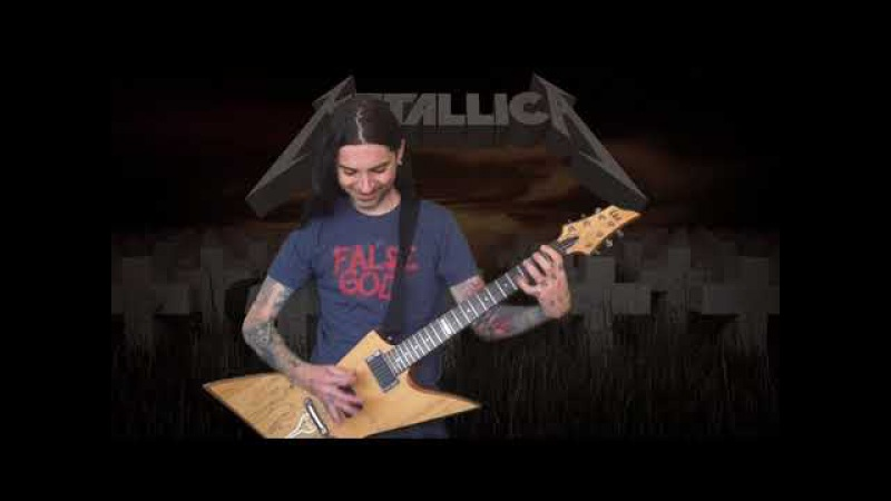 Metallica Master of Puppets solo cover