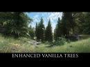 TES V Skyrim Mods Enhanced Vanilla Trees
