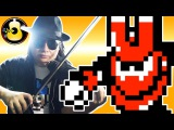 Mega Man 3 - Magnet Man Theme (Violin Metal Cover) String Player Gamer