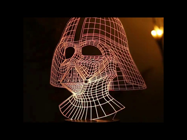 Creative 3D lamps for decoration - GearBest.com