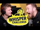 S1mple and Edward NaVi Whisper Challenge HyperX Moments