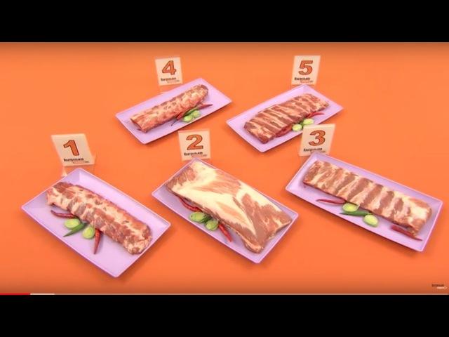 Контрольная закупка. Охлажденные свиные ребрышки. Выпуск от 18.10.2017
