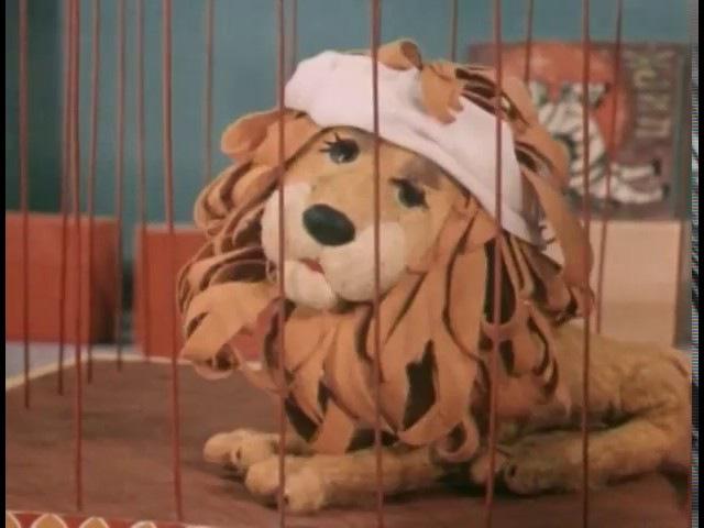 Девочка и лев (1974). Кукольный мультик для малышей | Золотая коллекция