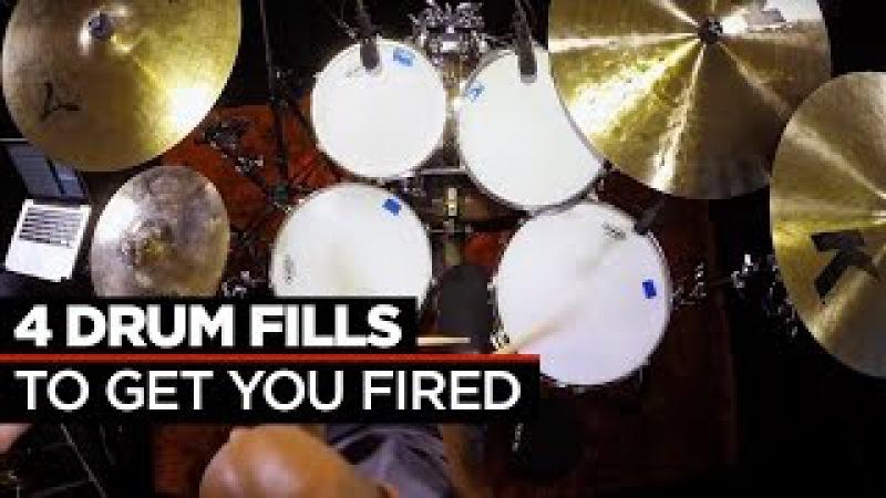 4 Crazy Fast Drum Fills | Buddy Rich Dennis Chambers
