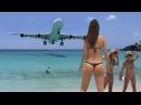 AEROPORTO St Maarten ✱ Lindas praias do CARIBE com POUSOS e DECOLAGENS de AIRBUS vs BOEING