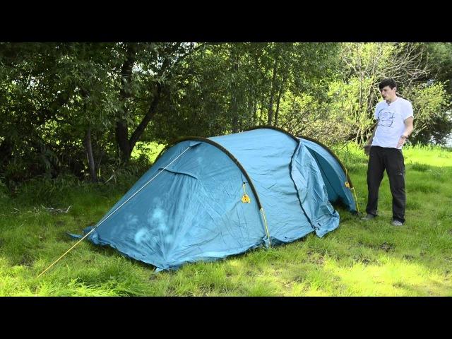 Палатка Спейс 3 Novatour - обзор.