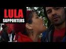 Arthur Crashes a Pro-Lula Demonstration in Curitiba - Brazil