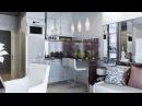 Дизайн маленькой КВАРТИРЫ СТУДИИ 20 кв. м. с раздвижной перегородкой. Home Tour