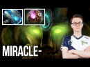 Miracle Treant Protector 7 07b Patch Meteor Hammer Build Dota 2