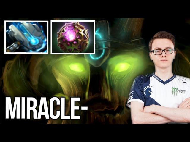 Miracle- Treant Protector 7.07b Patch Meteor Hammer Build - Dota 2