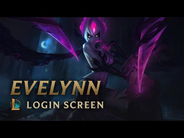 Evelynn, Agonys Embrace | Login Screen - League of Legends