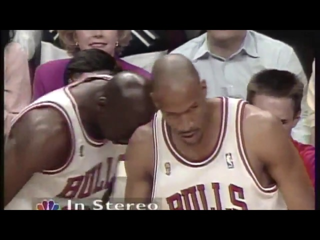 1996 NBA Final: Chicago Bulls vs Seattle SuperSonics Game 6 (Full Game) HD