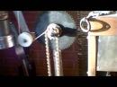 Часовой механизм вращения шампуров