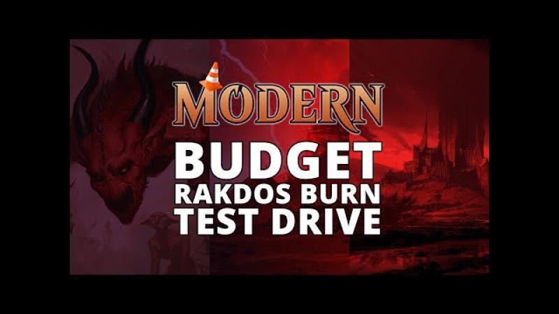Budget Rakdos Burn Modern Test Drive MTGO Stream