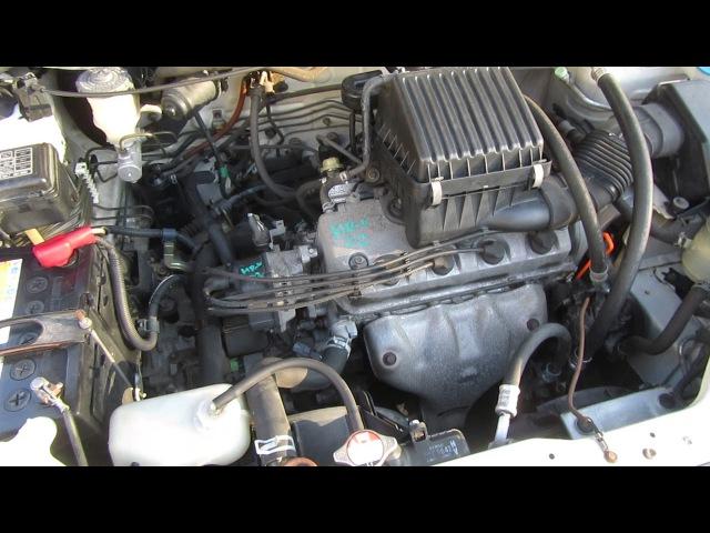 Запуск ДВС D16A Honda HR-V GH3 [HRV02]
