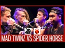 MAD TWINZ vs SPIDER HORSE | Grand Beatbox TAG TEAM Battle 2017 | SEMI FINAL