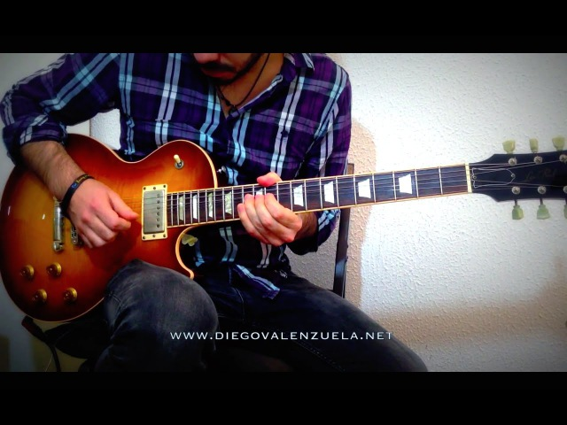 Greatest Guitar Solos - Still Got The Blues (Gary Moore) cover/slow-mo performance