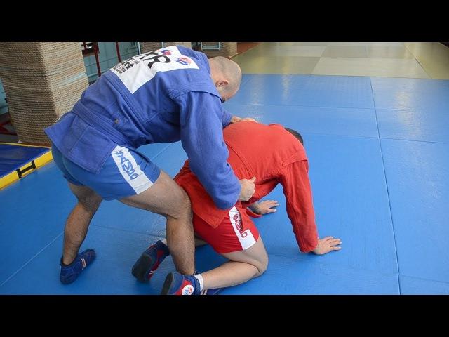 Как сделать рычаг колена, когда соперник ждет этот болевой прием