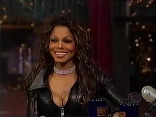 Janet Jackson on David Letterman