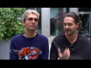 Bill e Tom Kaulitz no programa Brisant (15.09.2017)