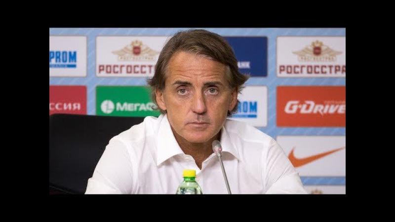 «Зенит» — «Урал»: послематчевая пресс-конференция. Роберто Манчини