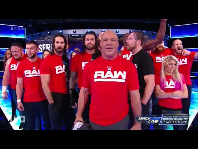 Raw Invades Smackdown Live - Smackdown Live 14-11-17
