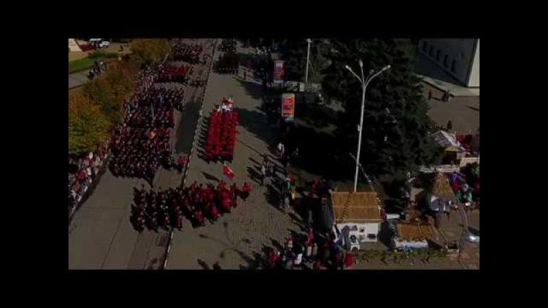 Парад, посвященный 321-й годовщине со дня образования ККВ