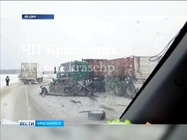В ДТП на трассе в Уярском районе погибла 30 летняя девушка