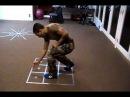 K.O. Method Footwork - Rubiks Cube Matrix For Optimal Positioning Evading 1 of 2
