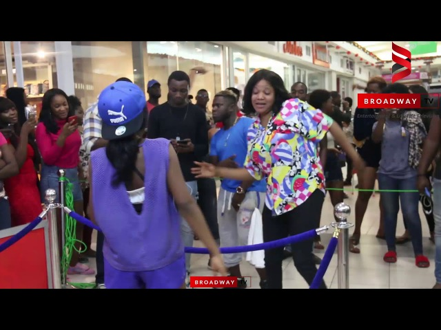 Watch Toyin Abraham And YCEE Dance Like Never Before