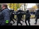 Ukraine Sechs Polizisten bei gewaltsamen Protesten in Odessa verletzt