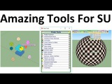 How To Use  Fredo Tools For SketchUp - Overview Of All Tools