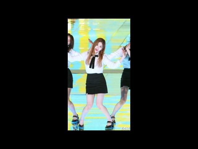 171104 구구단 gugudan 혜연 Hyeyeon 레인보우 Rainbow 평창 드림콘서트 직캠 fancam by ecu