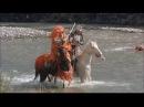 Схватка Уэсуги Кенсина и Такеда Сингена из фильма Небеса и земля 1990
