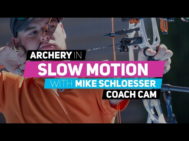 Archery in slow motion S01E01 BONUS: Mike Schloesser (Coach Cam)