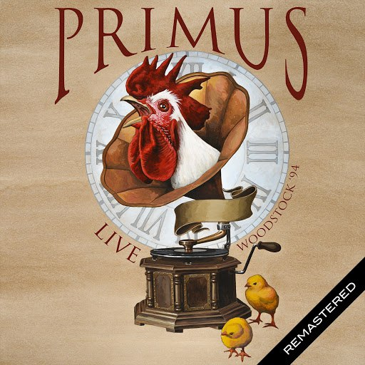 Primus альбом Live: Woodstock '94 Remastered (Live: Saugerties, NY 14 Aug '94)