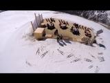 Полет на параплане горжнолыжка Жан Батист