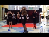 Видео #6 100 девушек станцевали в ТЦ Ауре перед жюри конкурса Мисс Европа плюс