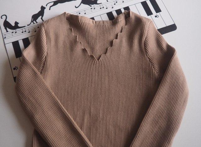 Бежевый базовый пуловер из магазина всего за 500 рублей