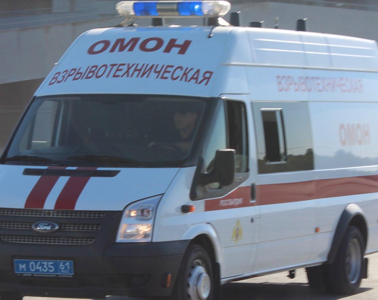 Саперы таганрогского ОМОНа обследовали место взрыва в Екатериновке
