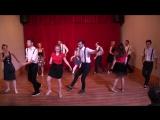 Amateur Cabaret_ Anna Yakshina  Alexey Kiselev Beginners Lindy Hop Group