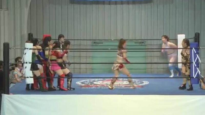 Hamuko Hoshi, Miyako Matsumoto, Tsukasa Fujimoto vs. Kyuri, Hana DATE, Nao DATE vs. Maika Ozaki, Risa Sera, Tequila Saya