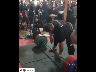 Влад Алхазов - тяга 442,5 кг