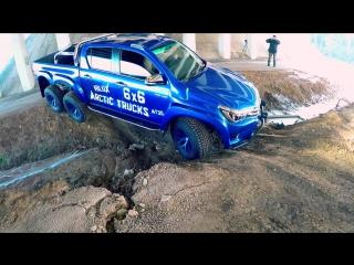 ШЕСТИКОЛЕСНАЯ Toyota Hilux против Гелендваген G500 4x4