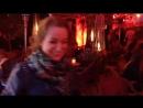 С младшим братиком в вечернем Дюссельдорфе