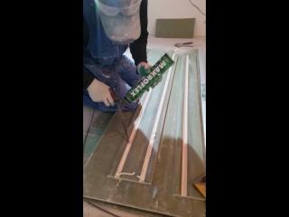 Фрезеровка гипсокартона на изготовления коробов (2)