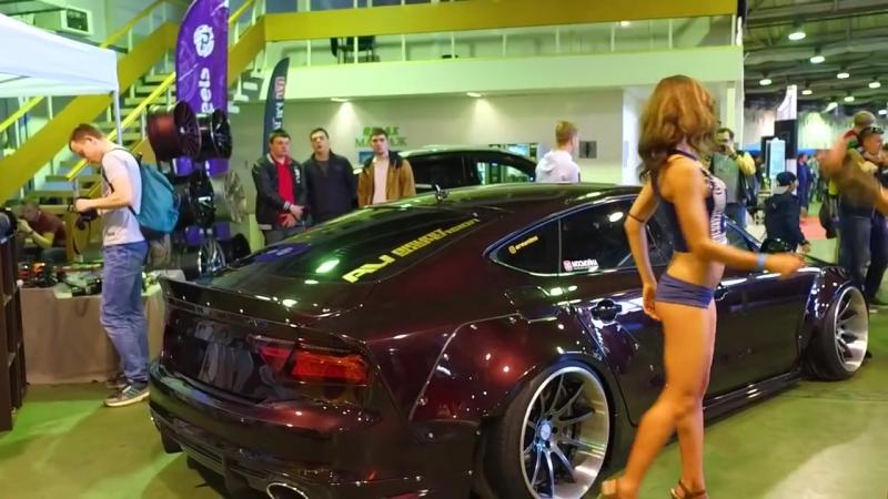 самое КРУТОЕ видео Moscow Tuning Show 2017 лучший авто тюнинг и девушки.