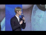 [CUT] 170414 Lu Han @ Fighter of the Destiny Press Conference